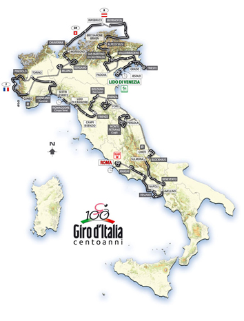 GIRO D ITALIA - Will be opened in new window
